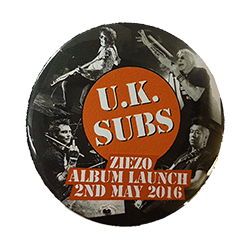 Ziezo big album launch badge