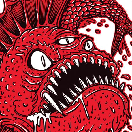 "The Beast 7"" single (red vinyl)"