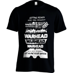 Warhead Black T-Shirt